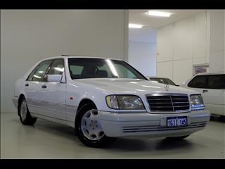 1996 MERCEDES-BENZ S500  W140 SEDAN