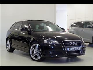 2010 AUDI A3 TFSI Limited Edition 8P HATCHBACK