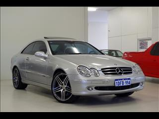 2002 MERCEDES-BENZ CLK500 Avantgarde C209 COUPE