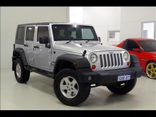 2008 JEEP WRANGLER Unlimited Sport JK SOFTTOP