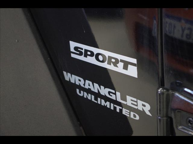 2007 JEEP WRANGLER Unlimited Sport JK SOFTTOP