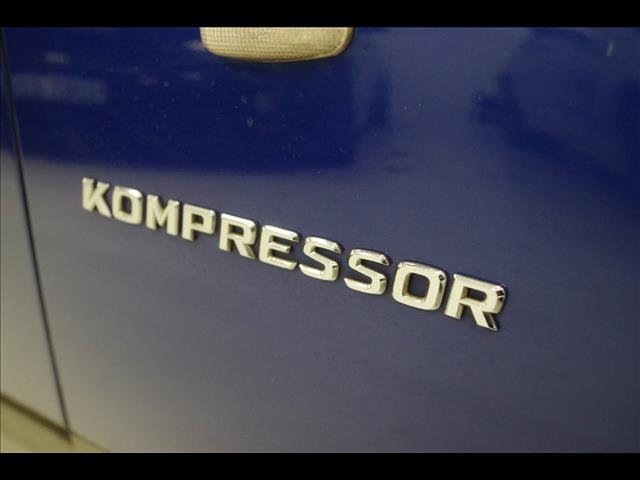 2000 MERCEDES-BENZ SLK230 KOMPRESSOR  R170 ROADSTER