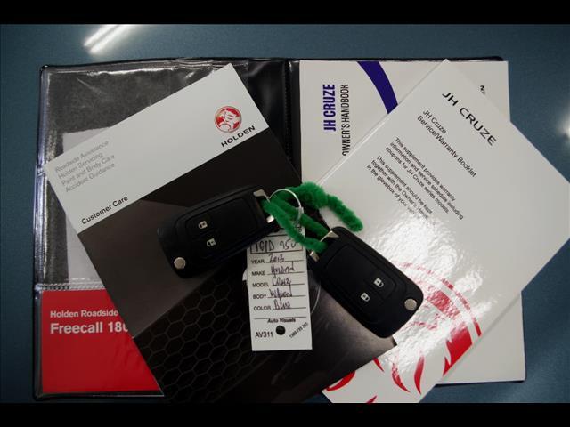 2013 HOLDEN CRUZE CD JH Series II WAGON