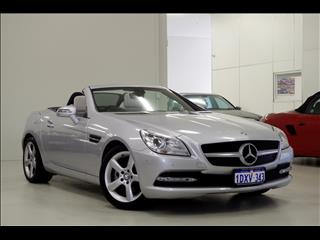 2012 MERCEDES-BENZ SLK200 BlueEFFICIENCY R172 ROADSTER