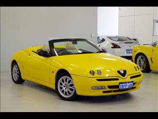 2002 ALFA ROMEO SPIDER Twin Spark (No Series) CONVERTIBLE