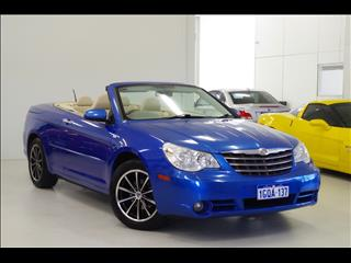 2008 CHRYSLER SEBRING Limited JS CONVERTIBLE
