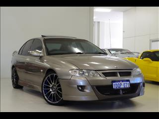 2001 HOLDEN SPECIAL VEHICLES CLUBSPORT R8 VX SEDAN