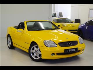 2000 MERCEDES-BENZ SLK230 KOMPRESSOR  R170 ROADSTER