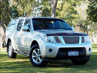 2012 NISSAN NAVARA ST D40 Series 6 UTILITY