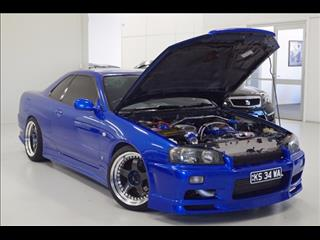 2000 NISSAN SKYLINE 25GT-T R34 COUPE