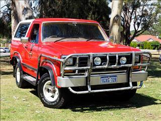 1982 FORD BRONCO  (No Series) WAGON