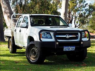 2009 HOLDEN COLORADO LX RC CAB CHASSIS