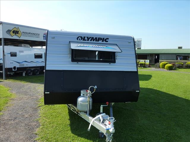 NEW 2017 OLYMPIC MARATHON FAMILY CARAVAN 18 FT WITH 2 BUNKS