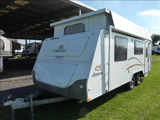 "2012 JAYCO DISCOVERY POP TOP 18'6"" WITH SHOWER AND TOILET."