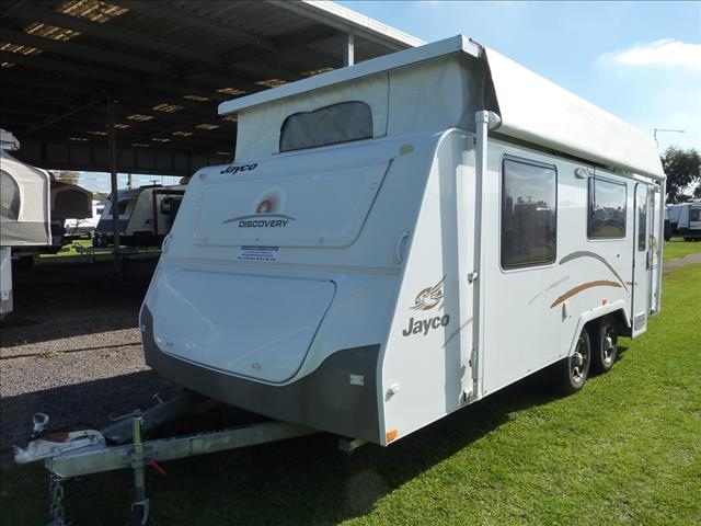 """2012 JAYCO DISCOVERY POP TOP 18'6"""" WITH SHOWER AND TOILET"""