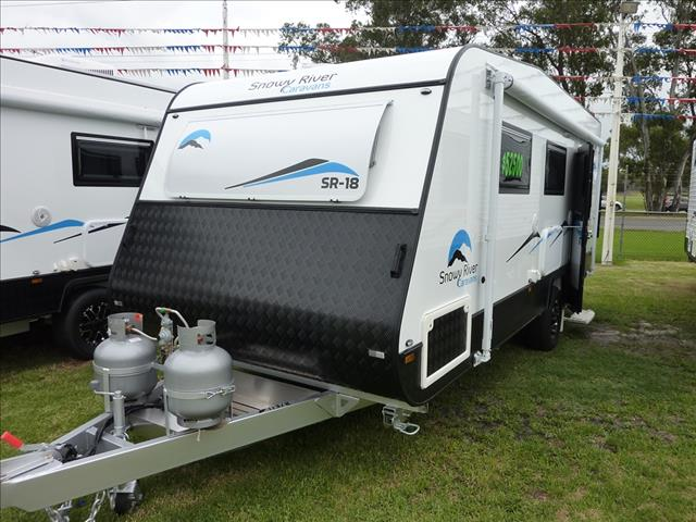 NEW 2018 SNOWY RIVER SR18 SINGLE AXLE CARAVAN