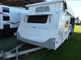 2008 JAYCO DISCOVERY 18 FT TANDEM POP TOP WITH SHOWER/TOILET