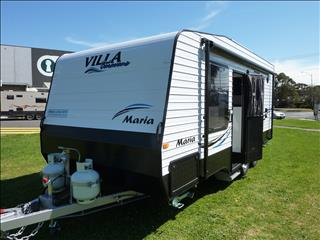 2017 VILLA MARIA CARAVAN 18FT 6IN FULL REAR ENSUITE