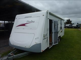 2008 JAYCO STERLING 12FT 6IN TANDEM ENSUITE CARAVAN