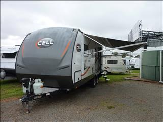 "2014 CELL SLIDE OUT CARAVAN 22FT 6IN ""THE TRACK"""