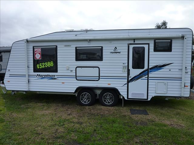NEW 2016 PLATED OLYMPIC MARATHON 21 FT 6IN  CARAVAN ON SALE NOW