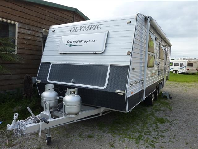 2011 OLYMPIC SEAVIEW  640 SS  - FULL REAR ENSUITE  -  ON SALE NOW