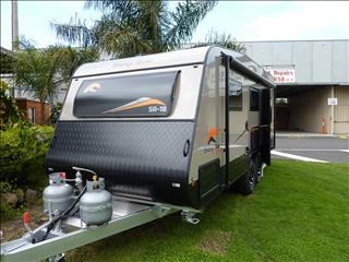 "NEW 2017 SNOWY RIVER SR 18 20 FT ""SPECIAL"" CARAVAN WITH REAR ENSUITE"