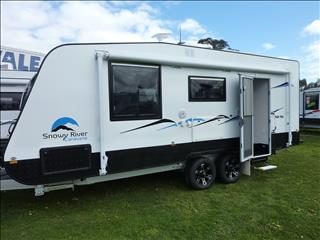 NEW 2017 SNOWY RIVER SR19S SLIDE OUT LOUNGE CARAVAN