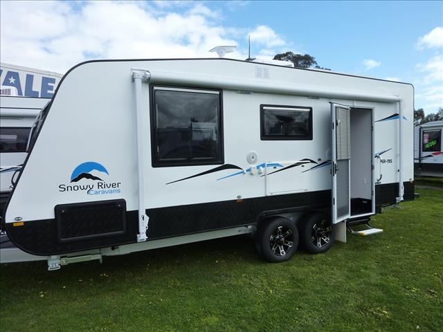 NEW 2017 SNOWY RIVER SR19S SLIDE OUT LOUNGE CARAVAN ON SALE NOW