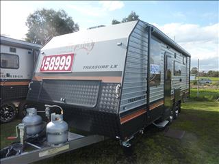NEW 2019 22FT AUSSIE RIDE TREASURE LX FAMILY BUNK CARAVAN