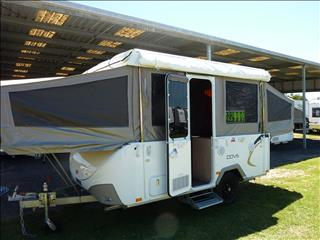 2016 JAYCO DOVE CAMPER WITH ANNEXE AND FLYS