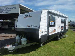 NEW 2019 MODEL VILLA VERONIKA 21FT 3 CARAVAN