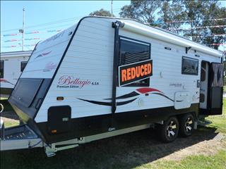 NEW 2017 LIVING EDGE BELLARGIO CARAVAN ON SALE NOW