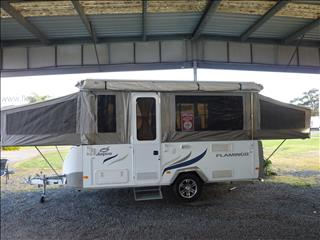 2012 JAYCO FLAMINGO CAMPER TRAILER - 13FOOT