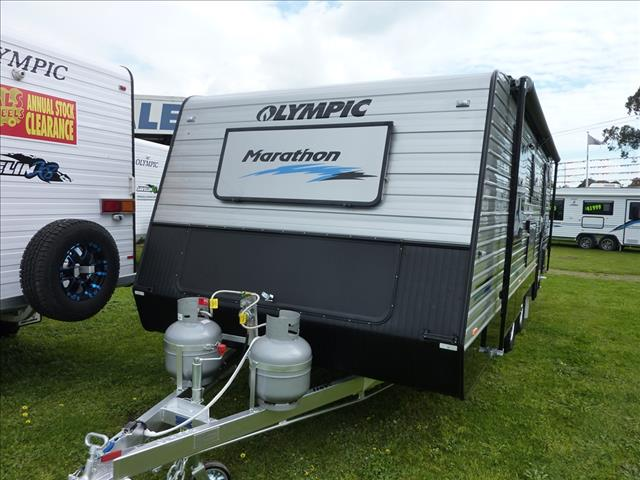 NEW 2016 OLYMPIC MARATHON 21 FOOT 6 INCH REAR ENSUITE WITH WASHING MACHINE ON SALE NOW