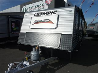 2018 OLYMPIC MARATHON 19FT 6IN FAMILY VAN - TANDEM AXLE