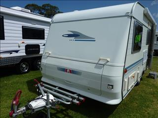 2009 ADRIA ALTEA 432PX CARAVAN 15FT 6IN