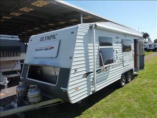 2010 OLYMPIC SEAVIEW 655 21FT 6IN ENSUITE CARAVAN