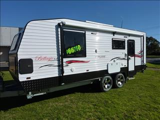 NEW 2017 LIVING EDGE BELLARGIO CARAVAN 21FT 6IN