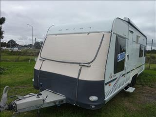 2007 GEIST 21FT 6IN AK 595 ENSUITE CARAVAN