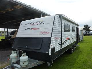 2015 24FT LIVING EDGE BELLAGIO ENSUITE CARAVAN