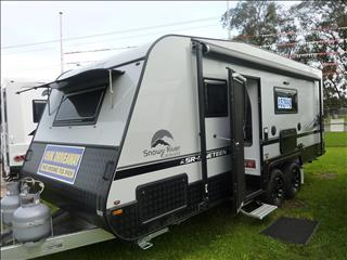 2019 SNOWY RIVER SR19B DOUBLE BUNK FAMILY CARAVAN