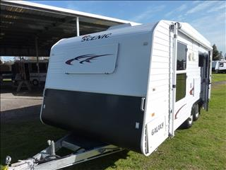 2008 SCENIC GALAXY 18FT CARAVAN IN MINT CONDITION