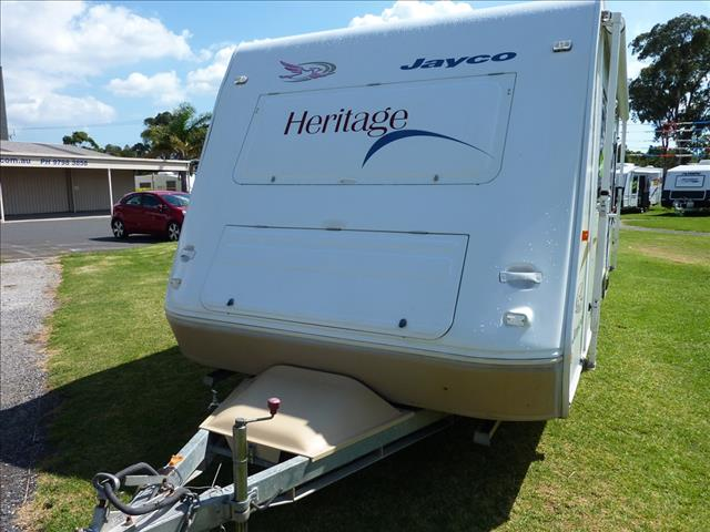 2005 JAYCO HERITAGE CARAVAN 18 FOOT WITH COMBO SHOWER/TOILET