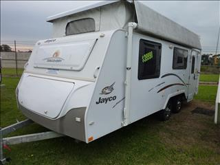 2012 USED JAYCO DISCOVERY POP TOP WITH SHOWER AND TOILET 18ft 6in ON SALE NOW