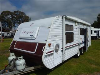 2004 REGENT 21FT 6IN CRUISER SE SERIES 2 CARAVAN