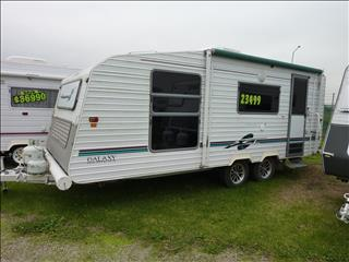 1998 20 FOOT SCENIC GALAXY SERIES 2 CARAVAN
