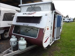 2007 GALAXY SOUTHERN CROSS 16FT POP TOP - SINGLE AXLE