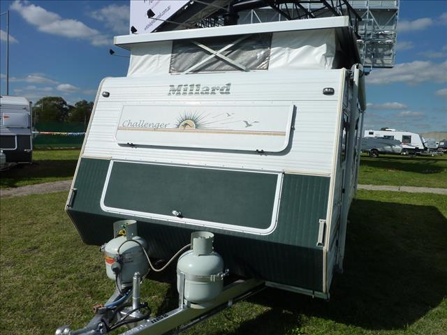 2000 MILLARD CHALLENGE 15 FOOT 6 INCH POP TOP  with Underbed Reverse Cycle Air Conditioning