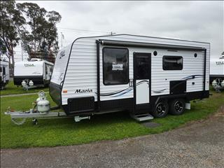 2017 VILLA MARIA CARAVAN 18FT 6IN FULL REAR ENSUITE ON SALE NOW